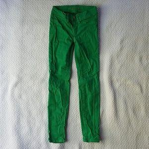 J Brand Green Girls Skinny Jeans